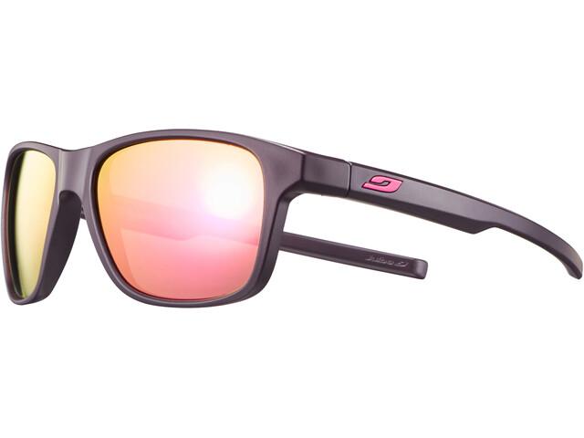 Julbo Cruiser Spectron 3CF Sunglasses matt aubergine/multilayer rosa